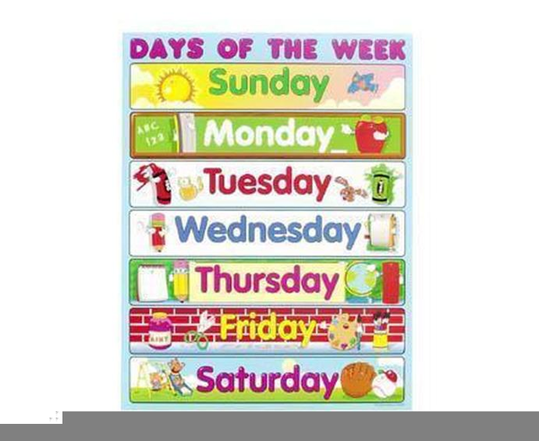 clipart days of the week free images at clker com vector clip rh clker com days of the week animated clipart 7 days of the week clipart
