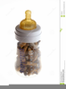Free Baby Bottle Clipart Image