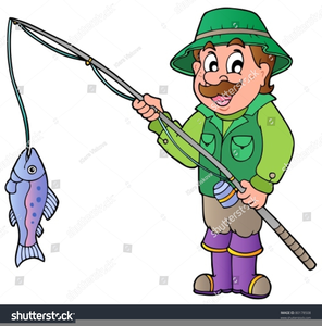 Cartoon Fishing Rod Clipart Free Images At Clker Com Vector Clip Art Online Royalty Free Public Domain