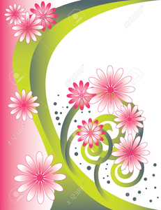 Flower Arch Clipart Image