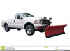 Snow Plow Truck Clipart Image