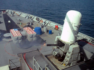 The Phalanx Close-in Weapon System (ciws) Image