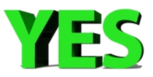 Yes | Free Images at Clker.com - vector clip art online ...