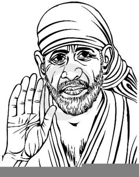Sathya Sai Baba Clipart Free Images At Clker Com