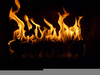 Animated Fireplace Wallpaper Image