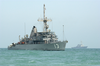 The Mine Countermeasure Ship Uss Dextrous (mcm 13) Takes Part In Mine Counter Measure Operations In The Arabian Gulf Image