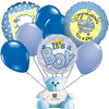 Boy Teddy Bear Balloon Bou Image