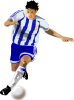Futbolista Soccer Player Clip Art
