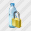 Icon Water Bottle Locked Image