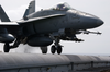 F/a-18 Launches On Combat Mission Image