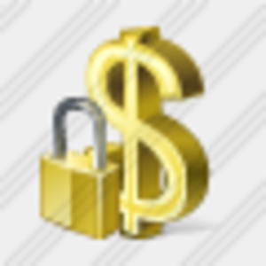 Icon Dollar Locked Image