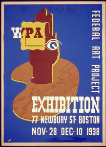 Wpa Federal Art Project Exhibition, 77 Newbury St., Boston, Nov. 28, Dec. 10, 1938  / N. Image