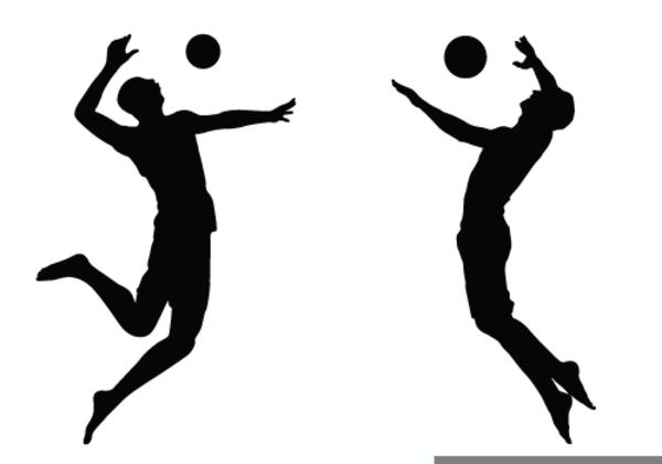 Volleyball Team Mascot Clipart