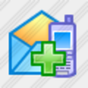 how to add an icon to emails bluemail
