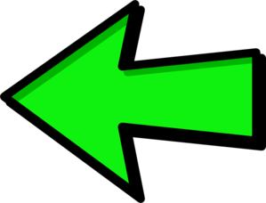 Green Arrow Left Clip Art