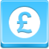 Free Blue Button Icons Pound Coin Image