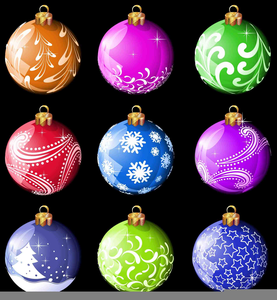 Free Christmas Backgrounds Clipart Image