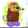 Free Clipart Sick Dog Image