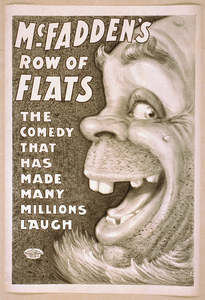 Mcfadden S Row Of Flats The Comedy That Has Made Many Millions Laugh. Image