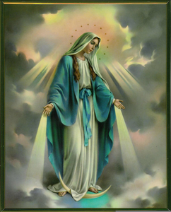 Assumption Of The Blessed Virgin Mary Clipart Image
