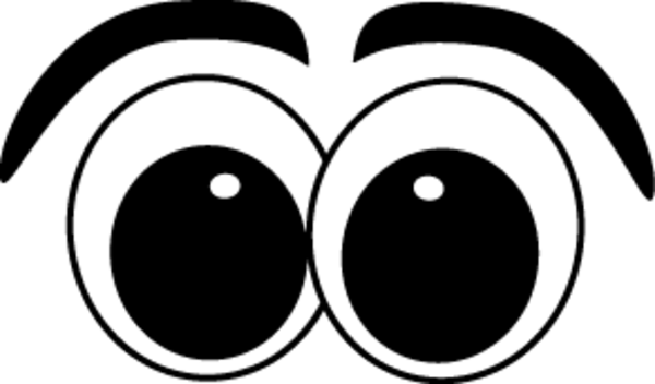 Cartoon Eyes | Free Images at Clker.com - vector clip art ...