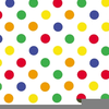 Clipart Coloured Dots Image