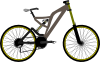 Mountain Bike Clip Art