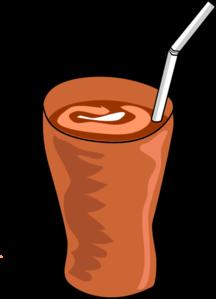 Glass Of Chocolate Milk Clipart