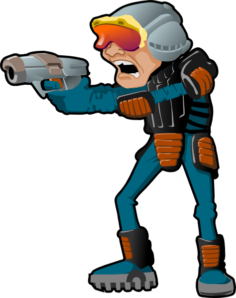 sci fi cartoon man clip art at clker com vector clip art online rh clker com Paint Clip Art Paint Clip Art