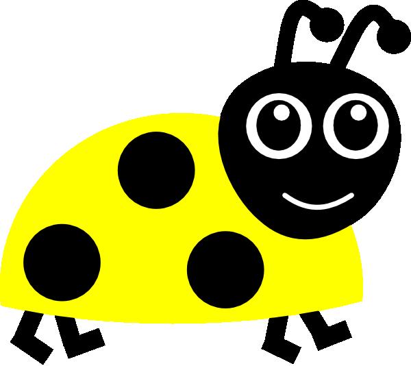 Yellow Ladybug Clip Art at Clker.com - vector clip art online ...