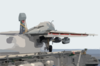 E-a6b Prowler Launches From Uss Kitty Hawk Catapult One. Clip Art