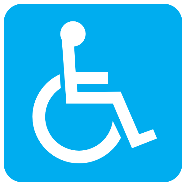 blue wheelchair clip art at clker com vector clip art online rh clker com wheelchair clipart funny wheelchair clipart black and white