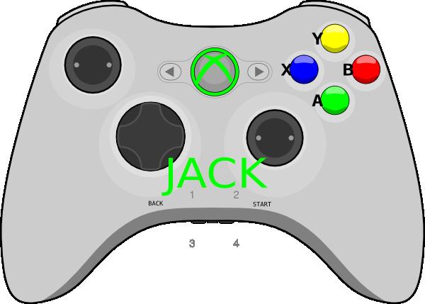 Xbox Controller Clip Art at Clker.com - vector clip art ...
