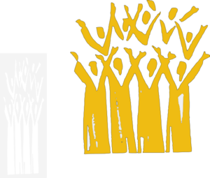 Gold Choir Clip Art