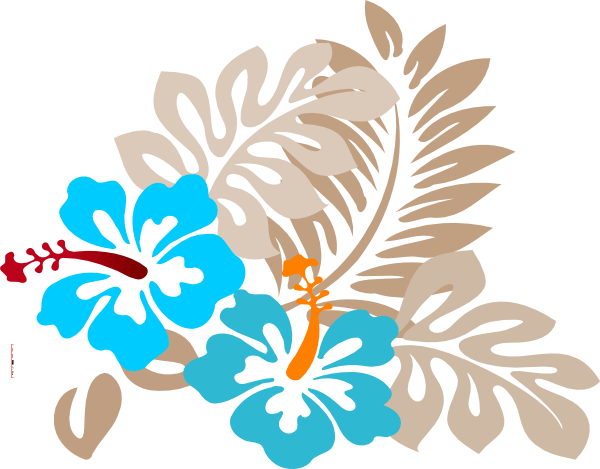 Tropical Flower Clip Art at Clker.com - vector clip art ...