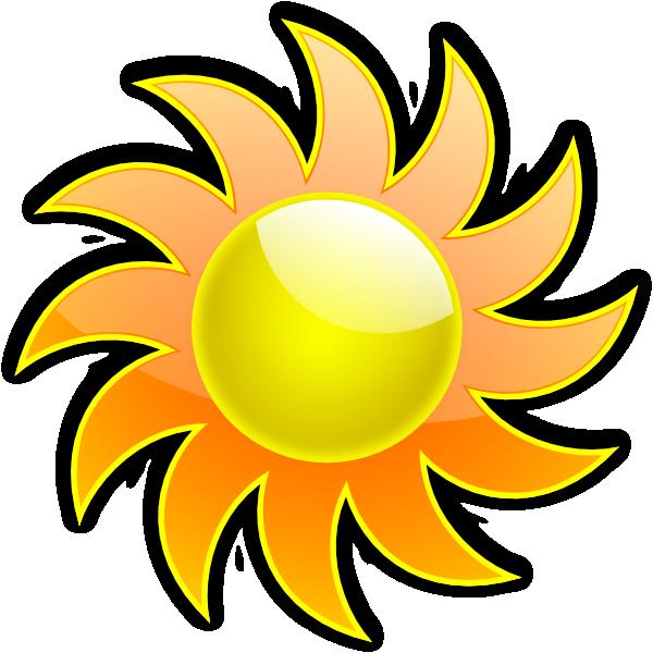 Sun 3 Clip Art at Clker.com - vector clip art online ...