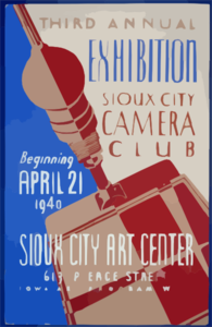 Third Annual Exhibition, Sioux City Camera Club Clip Art
