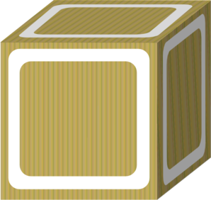 Block Plain White Clip Art at Clker.com - vector clip art online ...