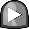 Black Play Button Clip Art