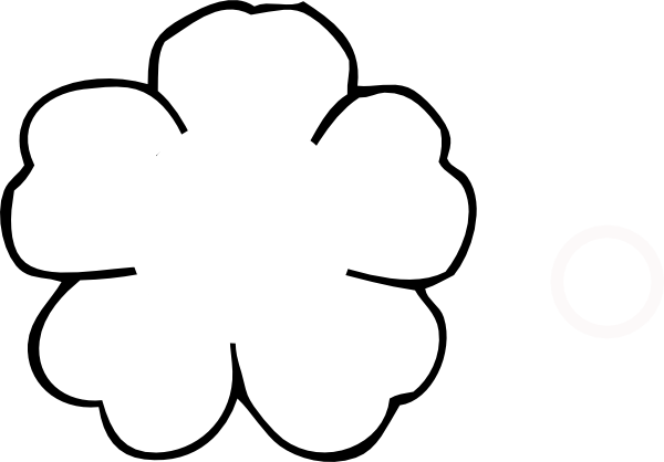 Flower Outline No Center Clip Art At Clker.com