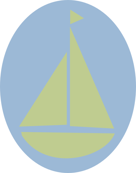 Sail Boat Green 2 Clip Art at Clker.com - vector clip art ...