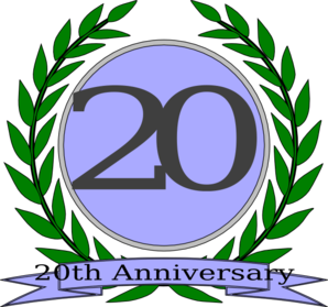 Anniversary Olive Wreath Clip Art