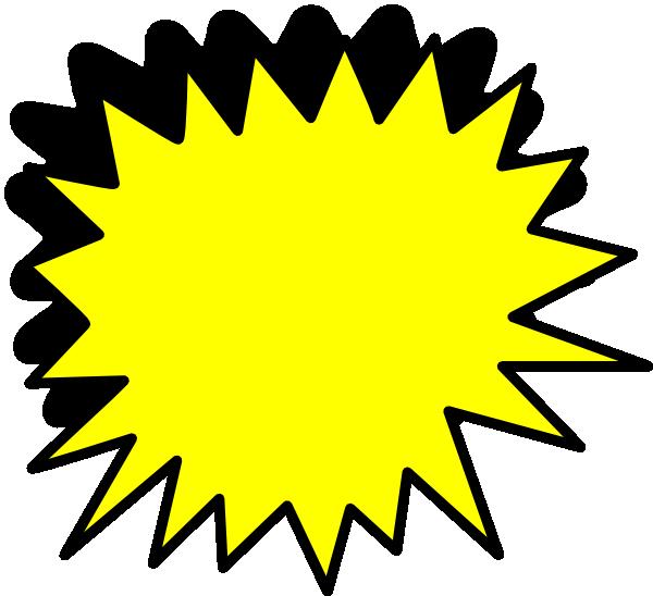 yellow starburst clipart - photo #29