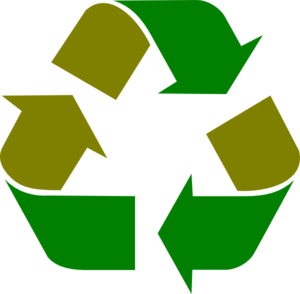 Simple Green Recycle Logo Clip Art