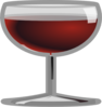 Wineglassicon Clip Art