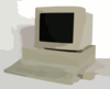Macintosh Two Vector Clip Art