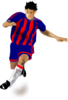 Player Barca Clip Art