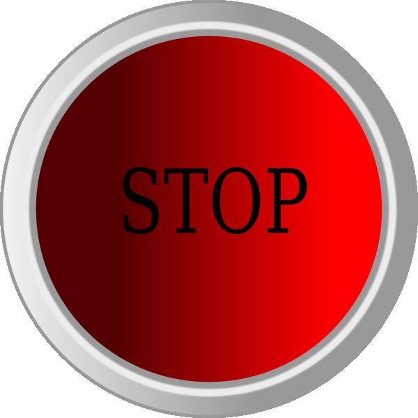 Stop Button Clip Art at Clker.com - vector clip art online ...