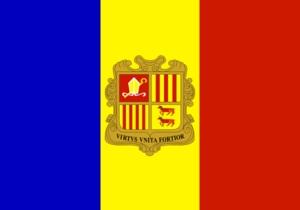 Flag Of Andorra Clip Art
