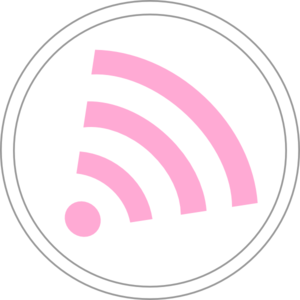 Pink Subscription Wifi Icon Clip Art
